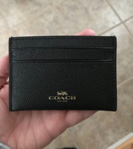 Men's Coach Card Wallet