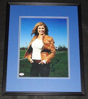 Connie Britton Signed Framed 11X14 Photo Psa Dna Friday Night Lights Nashville