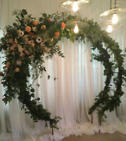 Wedding Circle Arch for Rent
