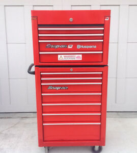 SNAP ON tool cabinet RED