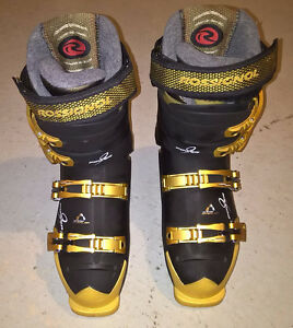 Rossignol Power 9.2 Ski Boots - Size 26 (304 mm), Black/Gold