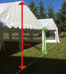Wedding Tents for Outdoors, Tables, Chairs, Lighting for rent Cambridge Kitchener Area image 4