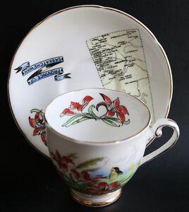Bone china tea cup and saucer set