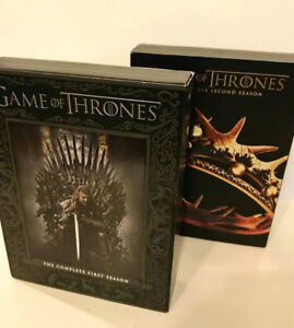 Game of Thrones DVD sets Season 1&2