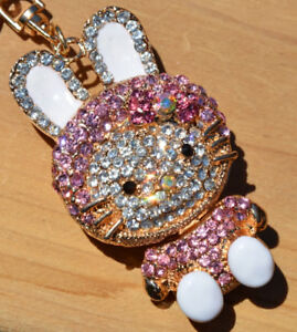 BRAND NEW Rabbit Keychain/Purse Charm