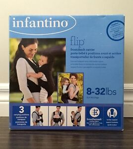 infantino - Flip Front2Back  Baby Carrier ( 8-32 lbs )
