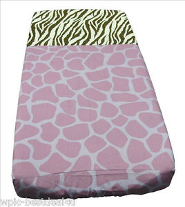 Sisi-Baby-Design-Diaper-Changing-Table-Pad-Cover-For-Safari-Bedding-Set