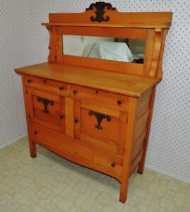MOVING -- Antique Buffet / Cabinet