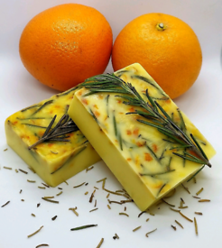 Citrus and Rosemary Soap
