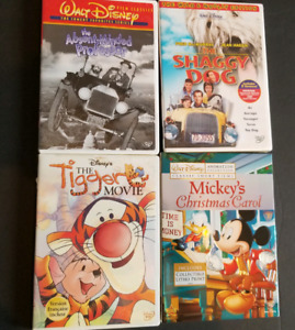 10 Disney Pixar dvds