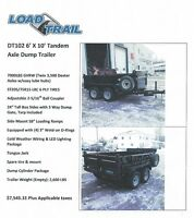 Load Trail Dump Trailers & Floats