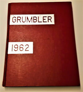5 Vintage Yearbooks The Grumbler KCI Kitchener 1958-62