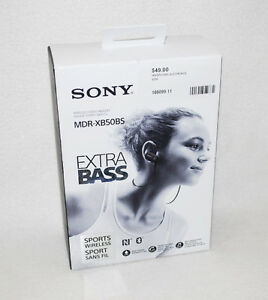 XB50BS EXTRA BASS Wireless Sports In-ear Headphones