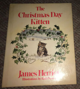 The Christmas Day Kitten 1986 James Herriot Book Vintage HC