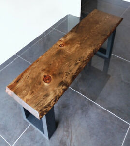 Live Edge Benches  -  Brand New Solid Wood