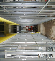 Steel Framing and T-Bar Ceiling Services