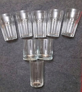 8 Drinking Glasses