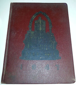 1947 AGRICULTURAL VET COLLEGE YEARBOOK FARM TORONTO