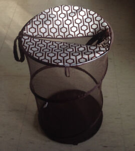 Barely used Ikea Brown laundry basket for $ 9 only