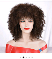 Mikos Synthetic Kinky Curly Wigs