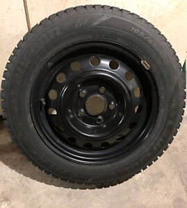 Full set Winter tires used 3 months (tires, rims, nuts)