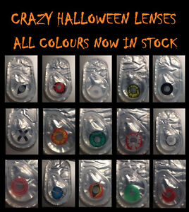 Crazy/Halloween 90 Wear Contact Lenses PROMOS ON NOW!