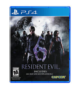 RESIDENT EVIL 6 PS4 PLAYSTATION 4