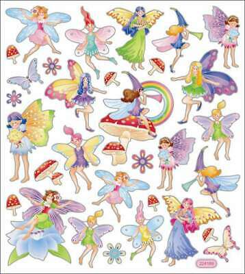 Multicolored Stickers Fairy Fantasy 679924422016