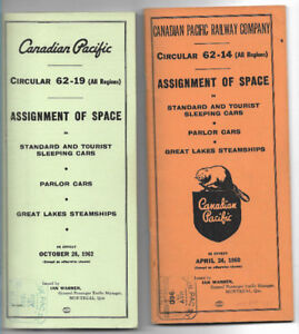 Canadian Pacific Assignment of Space