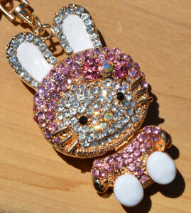 BRAND NEW Rabbit Keychain/Purse Charm for Easter