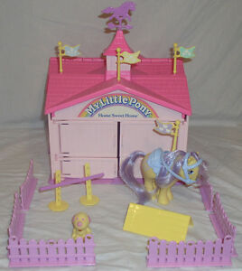 Vintage My Little Pony Playsets
