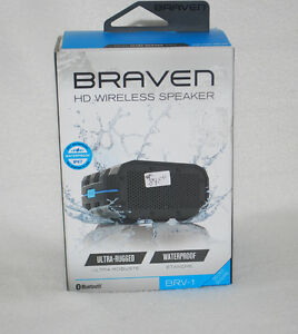 BRAVEN BRV-1 Wireless Bluetooth Speaker [Waterproof]