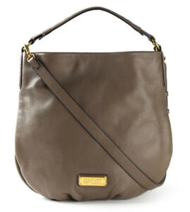 Authentic MARC BY MARC JACOBS 'New Q Hillier Hobo' leather bag