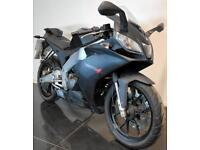 2016 16 APRILIA RS RS4 125 BLACK LEARNER LEGAL TRADE SALE/PROJECT 4600mile CAT N