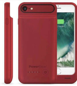 iPhone 7/8 red charger case