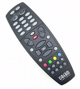 BRAND NEW REPLACEMENT REMOTE CONTROL BLACK FOR DREAMBOX 500