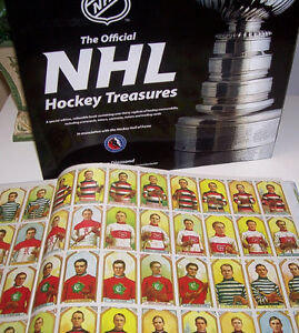 The Official NHL Hockey Treasures Hardcover Book London Ontario image 5
