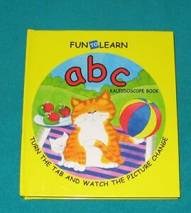 Fun To Learn ABC with Kaleidoscope Book