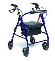 Walkabout Basic Four-Wheel Rollator - Free & Fast Delivery