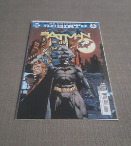 DC UNIVERSE REBIRTH BATMAN issue no.1 (First print)