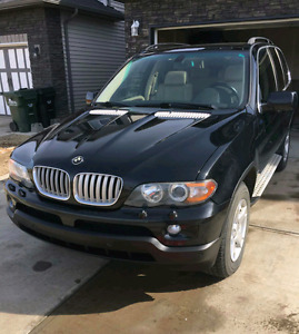 2005 4.4 BMW X5 V8 excellent condition