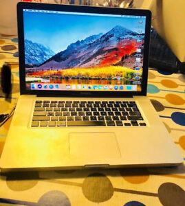 MacBook Pro, 120GB SSD, 8GB, Office 2016, FinalCut, LogicX Pro
