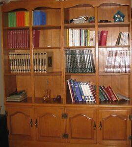Bibliothèque en érable