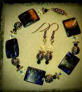 Handmade Bracelet & Earrings