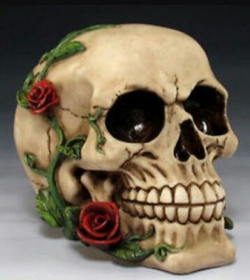 Latex only mold skull  mould plaster concrete casting garden mould