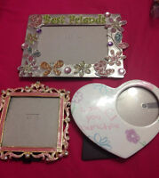 Girly Picture frames $5