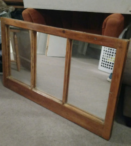 Selling rustic mirror