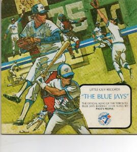 1977 TORONTO BLUE JAYS OFFICIAL SONG 45 RPM w/ ORIGINAL SLEEVE