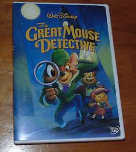 Great Mouse Detective DVD disney