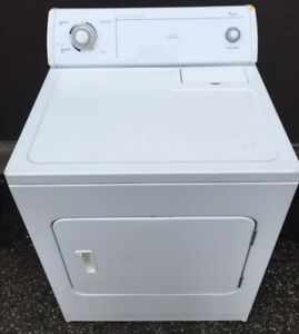 Whirlpool Electric Dryer, Commercial Quality 12 month  warranty